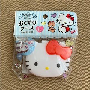 Hello Kitty medicine case box from Japan NWT